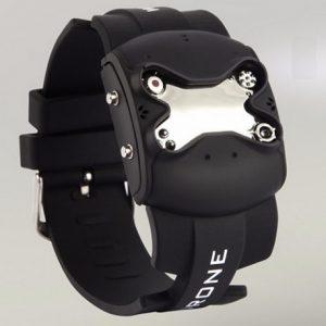 Часы - дрон черный