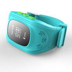 Детские GPS часы для родительского контроля синие