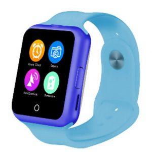 Умные часы с сенcором сердечного ритма D3 голубые