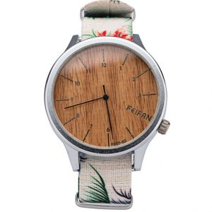 Часы деревянные Feifan