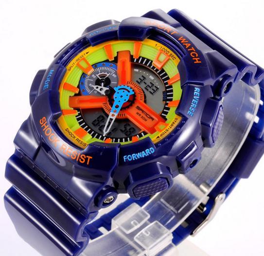 Часы G-SHOK синие