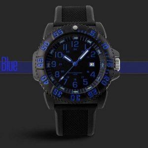 Часы люминесцентныеLUMINOX синие