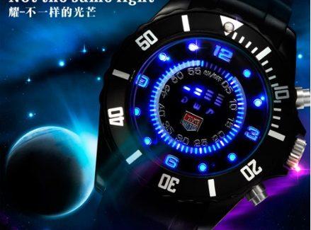 Часы светодиодные с поминутной индикацией