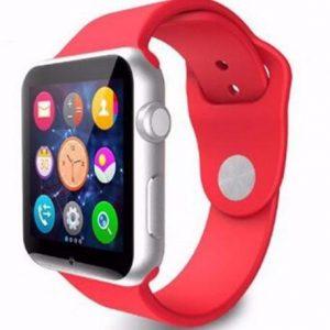 Умные часы телефон A1 красные
