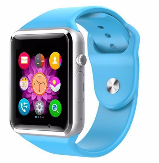 Умные часы телефон A1 синие