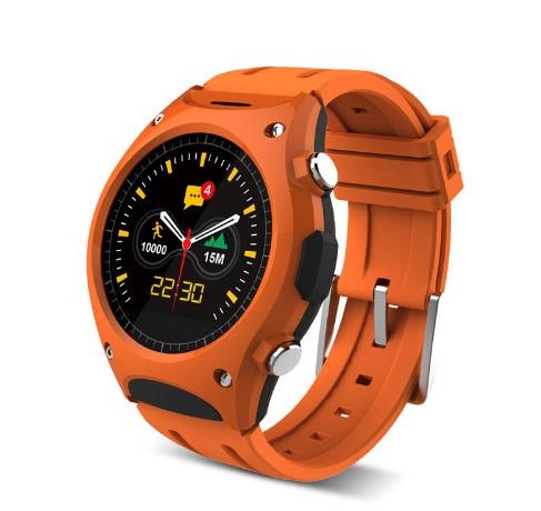 Умные часы Q8 D9 водонепроницаемый с мульти датчиками оранжевые