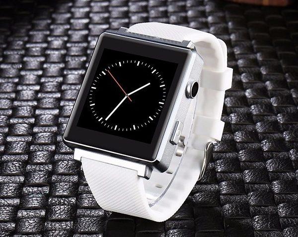Умные смарт часы ZHC с боковой камерой белые