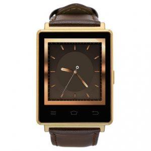 Умные смарт часы Android № 1 D6 золотистые