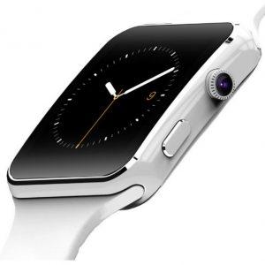 Умные смарт часы X6 белые