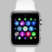 Умные смарт часы копия Apple IWatch LF07 белые