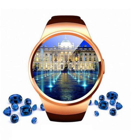 Розумний смарт годинник KW18 V365 золотий