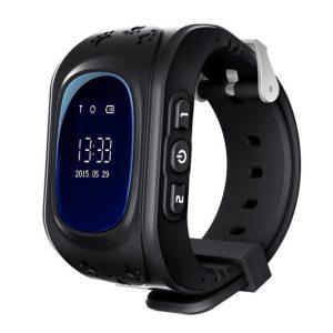 Детские GPS часы для родительского контроля черный