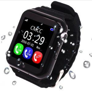 Умные часы с цветным дисплеем и GPS контролем за детьми