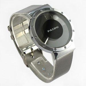 Часы дисковые с полупрозрачным окном