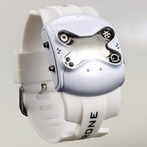 Часы - дрон белый