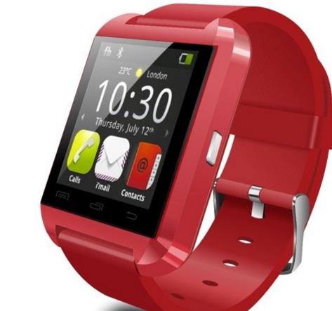 Умные часы Atrix E08 красные