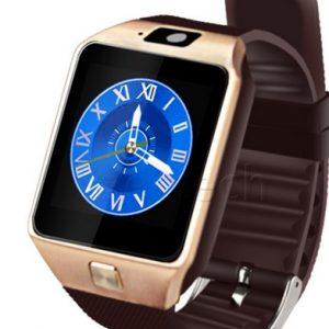 Умные часы телефон Atrix D04 золотистые