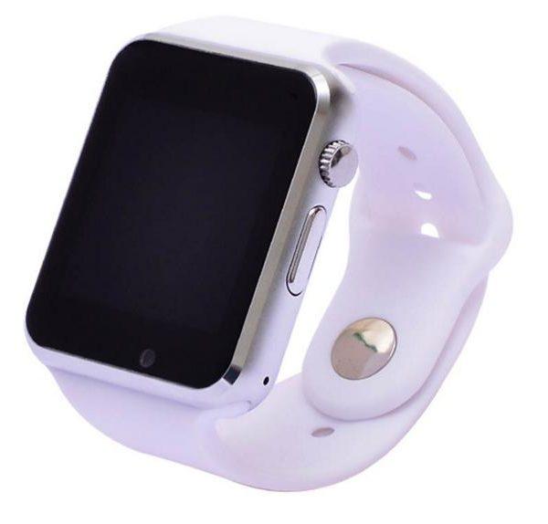 Умные часы телефон A1 белые