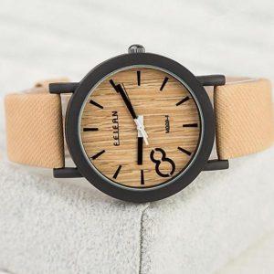 Деревянные часы 8